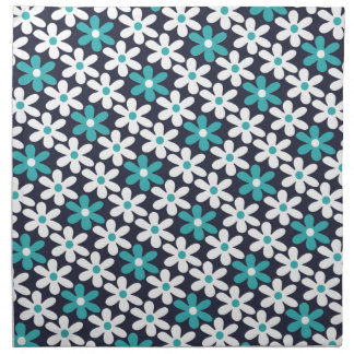 flower abstract pattern napkin