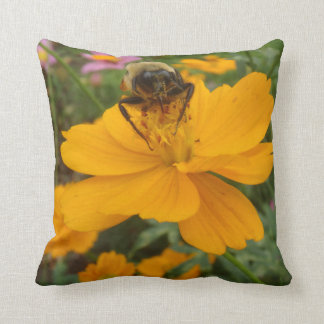 Flower and Bee Pillow