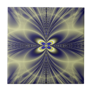 Flower and Swirls Fractal Tile