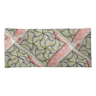 Flower and Tangles Pencil Case