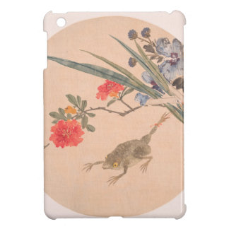 Flower and Toad - Zhang Xiong (Chinese, 1803–1886) iPad Mini Cases