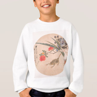 Flower and Toad - Zhang Xiong (Chinese, 1803–1886) Sweatshirt