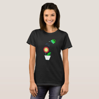 Flower and water T-Shirt