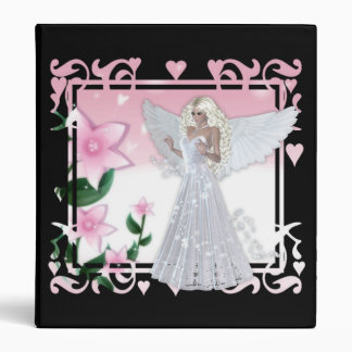 Flower Angel Design 3 Binder