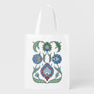 Flower Arabesques Market Totes