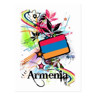 Flower Armenia Postcard