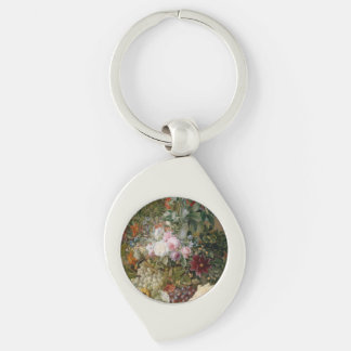 Flower Arrangement and Seashell Keychain