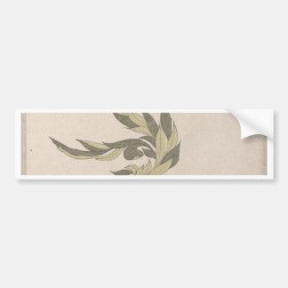 Flower Arrangement - Utagawa Itchinsai Bumper Sticker