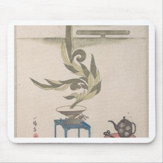 Flower Arrangement - Utagawa Itchinsai Mouse Pad