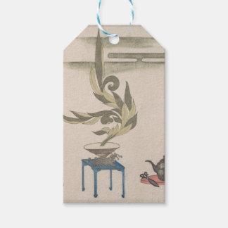 Flower Arrangement - Utagawa Itchinsai Pack Of Gift Tags
