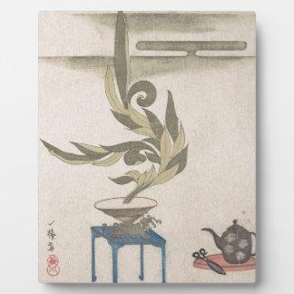 Flower Arrangement - Utagawa Itchinsai Plaque