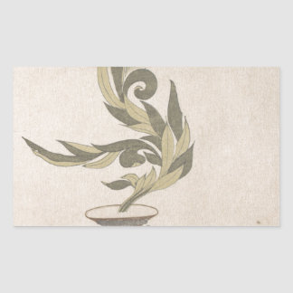 Flower Arrangement - Utagawa Itchinsai Sticker