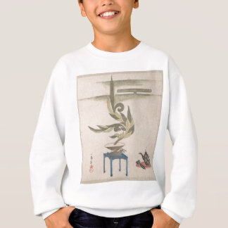 Flower Arrangement - Utagawa Itchinsai Sweatshirt