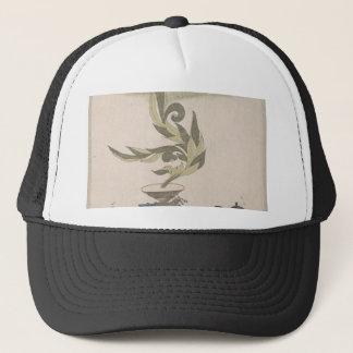 Flower Arrangement - Utagawa Itchinsai Trucker Hat