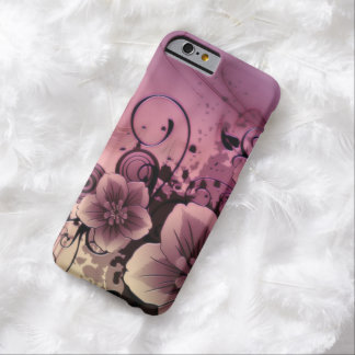 Flower Art Barely There iPhone 6 Case