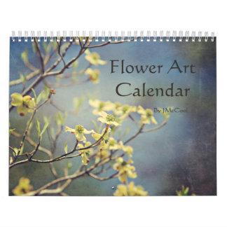 Flower Art Calendar