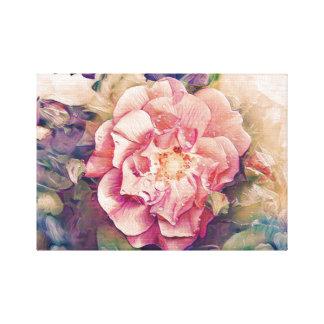 Flower art canvas