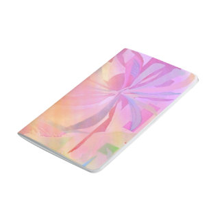 Flower Art Wrap Design Pocket Journal