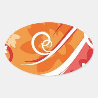 Flower-Background-Element-For-Design-Vector-Illust Sticker