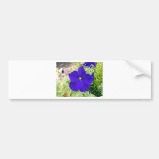 flower bag bumper sticker