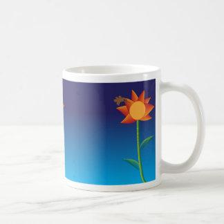 Flower Basic White Mug