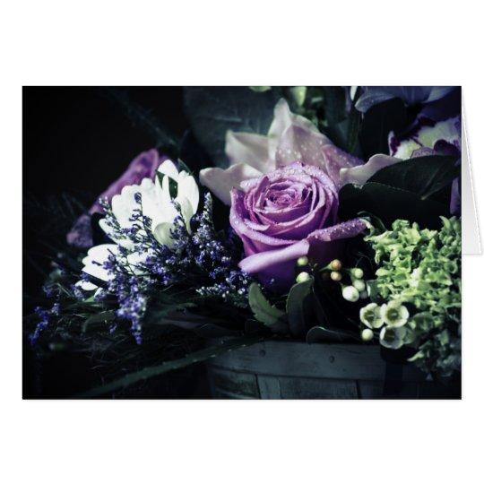 Flower Basket Note Card