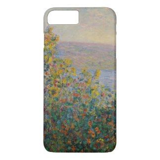 Flower Beds at Vetheuil by Claude Monet iPhone 7 Plus Case