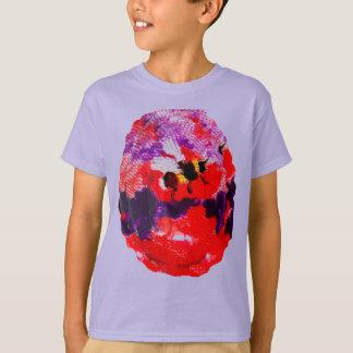 Flower Bee Floral Art T-Shirt