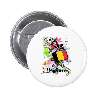 Flower Belgium Buttons