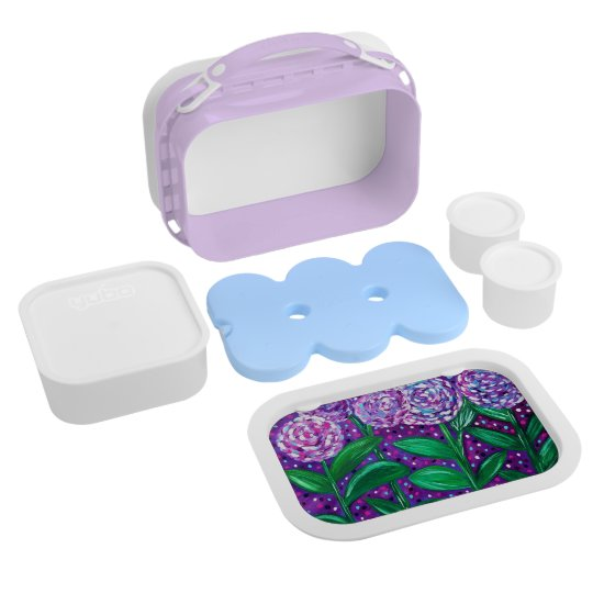 Flower Blooms Lunch Box