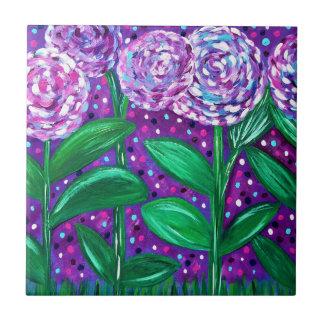 Flower Blooms Tile
