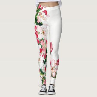 Flower Blossoms All Over Print Leggings