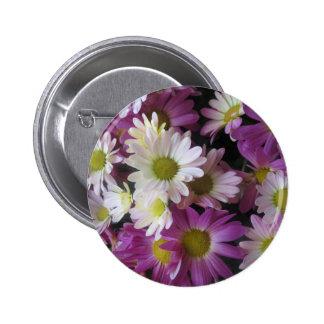 FLOWER Bouquet Butterfly Garden: Elegant Gifts 2 Inch Round Button