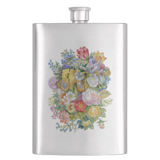 Flower Bouquet Classic Flask