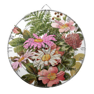 flower bouquet dartboard