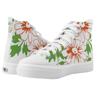 Flower bouquet... high tops