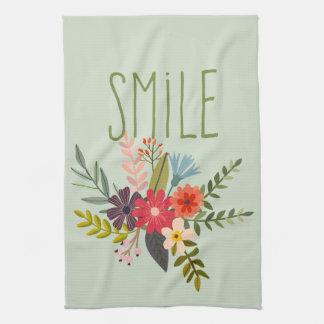 Flower Bouquet Kitchen Towels