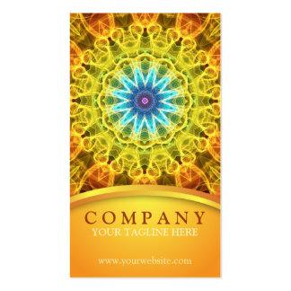 Flower Bouquet Mandala Business Card