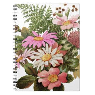 flower bouquet notebook