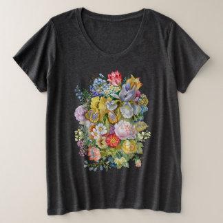 Flower Bouquet Plus-Size T-Shirt