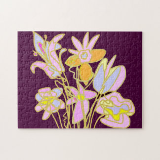 Flower Bouquet Puzzle
