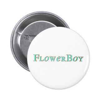 Flower Boy Button