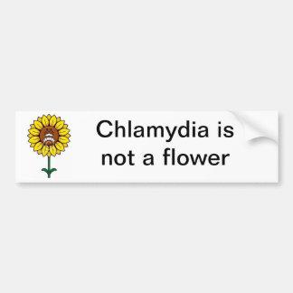 Flower Bumper Sticker