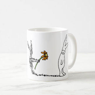 Flower Bunny Coffee Mug