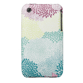 """""""Flower Burst"""" Rainbow of Colors iPhone 3 Covers"""