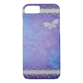 Flower Butterfly iPhone 7 Image iPhone 7 Case