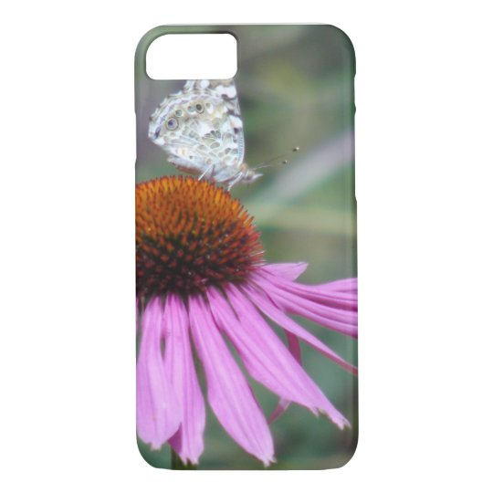Flower & butterfly iPhone 8/7 case