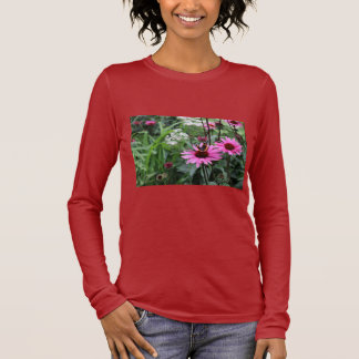 Flower/butterfly Long Sleeve T-Shirt