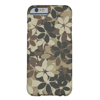 Flower camouflage barely there iPhone 6 case