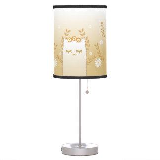 Flower Cat table lamp